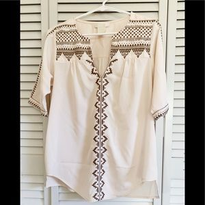 Embroidered Tunic MM Couture Small